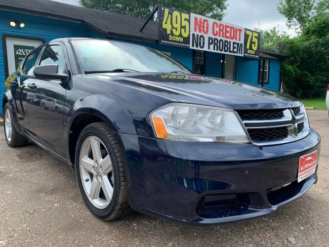 2013 Dodge Avenger Base (1C3CDZAB2DN) with an 2.4L L4 DOHC 16V engine, 4-Speed Automatic transmission, located at 1908 Blalock Road, Houston, TX, 77080, (281) 801-8937, 29.828690, -95.523354 - Photo #0