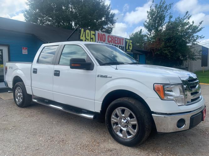 2009 Ford F-150 Lariat SuperCrew 5.5-ft. Bed 2WD (1FTRW12829F) , 4-Speed Automatic transmission, located at 1908 Blalock Road, Houston, TX, 77080, (281) 801-8937, 29.828690, -95.523354 - Photo #0