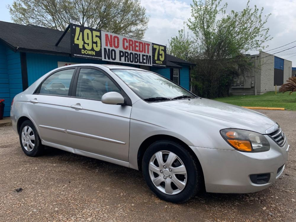 2009 Kia Spectra EX (KNAFE222195) with an 2.0L L4 DOHC 16V engine, located at 1908 Blalock Road, Houston, TX, 77080, (281) 801-8937, 29.828690, -95.523354 - Photo #0